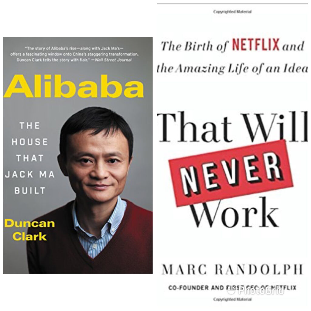 Alibaba and Netflix' stories are what start-ups, challenges and dreams are made of. Books like these keep us believing that we could do the same