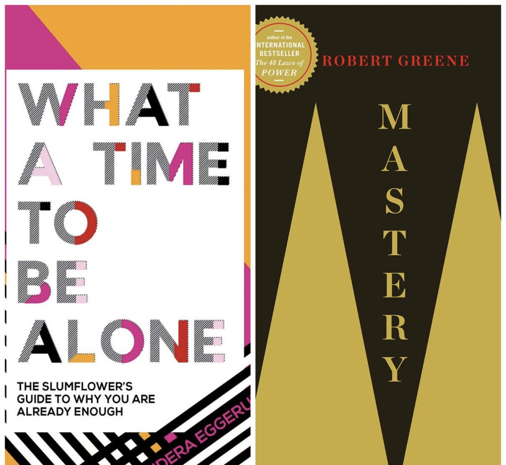 We all need a little self-help or guidance along the way. These books were so different but useful in their own respective ways