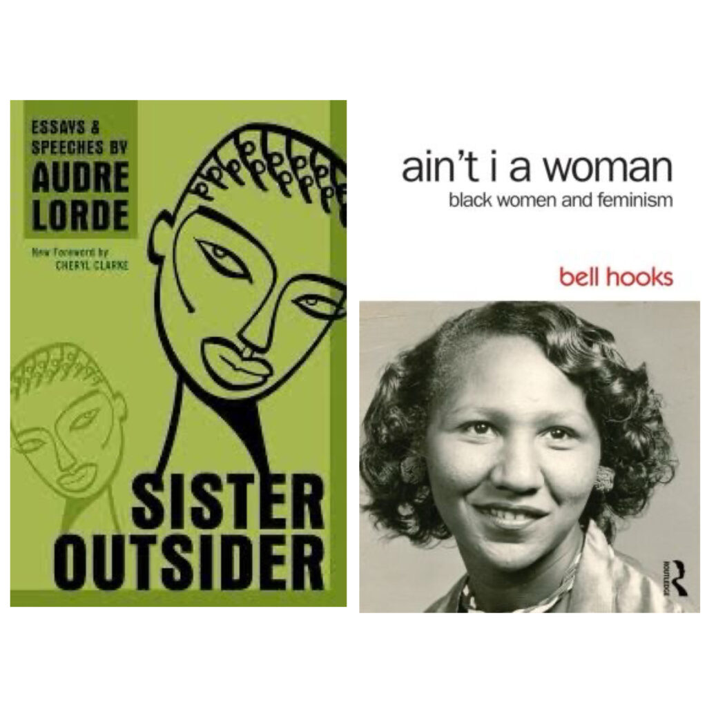 Uncomfortable conversations, hard truths and self-worth will always be themes for the writers like bell hook and Audre Lorde. These books are classics