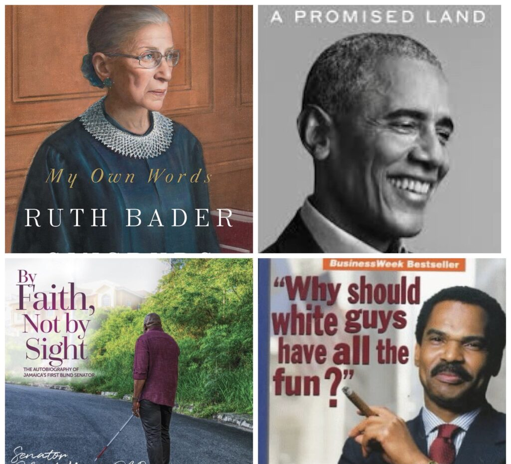 From Barack Obama to Ruth Bader Ginsburg, the books were beautiful